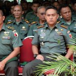 Anggota Kodim 0827/Sumenep Ikuti Pengarahan Pangdam V/Brawijaya di Kodim Pamekasan