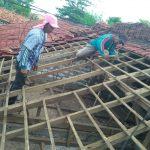 Rehab Pos Ramil Talango Koramil 0827/02 Kalianget Dibatu Masyarakat