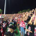 Bupati Pamekasan Nonton Langsung Piala Presiden 2017