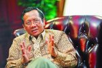 Mahfud MD Anggap Nazaruddin Berpahala