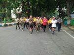 Bina Sinergitas Kodim, Pemkab dan Polres Gelar Olahraga Bersama