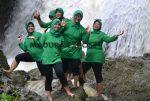 Menikmati Air Terjun Dhurbughen Bersama PKCK  XLVI Kodim Sumenep