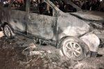 Habib Rizieq, Mendadak Mobil Terbakar Dekat Kerumunan Massa