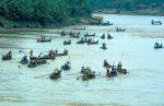 Sungai Serayu Dekat Jembatan Soeharto