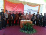 Danramil  Kalianget Wakili Dandim Hadiri Pembukaan Bank Indonesia Jangkau 2017