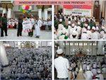 Ratusan Santri, Warga dan Prajurit TNI-Polri Doa Bersama Untuk NKRI