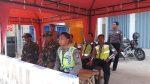 Gabungan TNI Polri Lakukan Pengamanan Di Pos Pantau Pragaan Sumenep