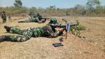 Kodim Sumenep Latihan Tembak Jatri TW III