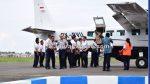 Bupati Busyro Apresiasi Penerbangan Komersial