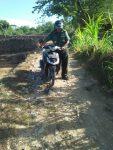 Bantuan DD/ADD miliaran, Jalan Desa Guluk-Guluk Mengerikan