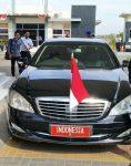 Bupati Busyro Jemput Presiden di Bandara