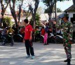 HSN: Koramil Sapudi Kawal Kirab Santri Dan Nahdiyin