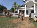 Koramil 0827 dan Anggota Pramuka SMPN 1 Ganding Karya Bhakti