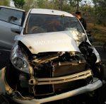 Mobil Ertiga Kecelakaan di Gunung Gigir