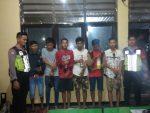 Pesta Miras,  6 Pemuda Sumenep Diamankan Polisi