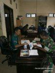 Babinsa Koramil Masalembu Anjangsana ke Kantor Desa Masalima