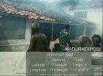 Tabung Meledak, Rumah Warga Terbakar di Pulau Raas Sumenep