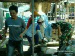 Bersama Warga Babinsa Koramil Sapeken Wujudkan Kemanunggalan TNI