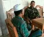 Netralitas TNI Harga Mati, Babinsa Himbau Warganya Hindari Konflik