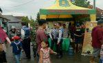 Babinsa Koramil 01/Kota Membantu Pengamanan Pasar Minggu