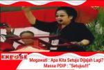 "Megawati : Apa Kita Setuju (Dijajah Lagi)? Massa PDIP : ""Setujuu!!!"""