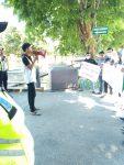 Marak Oplosan, Aktivis SMPRODEO Demo Polres Sumenep