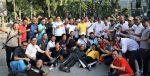 Kapolda Jatim Jalan Sehat Dan Cangkrukan Bersama Wartawan
