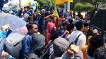 Unras PMII Permalukan Rektor Unija Didepan Kampus