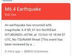 Sumenep Diguncang Gempa,Situbondo?