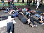 Kasus Korupsi Pasar Pragaan Belum Beres, Mahasiswa Demo Polres Sumenep