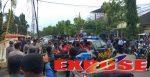 Bupati Busyro Ogah Temui Mahasiswa, Aktivis GMNI Blokade Jalan