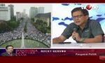 Reuni 212 Tak di Expose Media, Rocky Gerung: Pemalsuan Sejarah dan Penggelapan Pers Indonesia