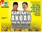 Gong Kampanye Akbar Golkar : Rebut 2 Kursi Perdapil Demi Wibawa Partai