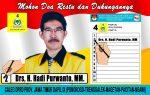 Hadi Purwanto :  Siang Malam Cari Suara Golkar, Bak Gerilyanya Jenderal Sudirman di Magetan dan Ngaw...