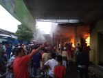 Pasar Anom Sumenep Kembali Terbakar,Pedagang Histeris
