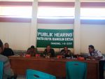 Transaportasi Semraut,  FMG gelar Audiensi Di Kantor Kecamatan Ganding
